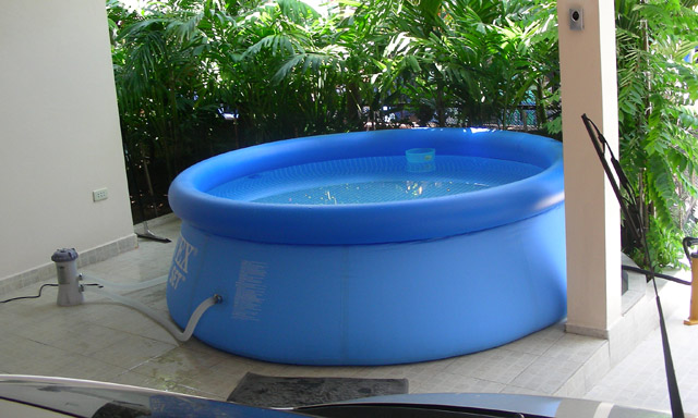 56972 swimming pool easy set 244x76 cm for Intex pool 150 cm tief